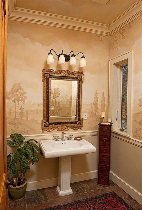 beautiful powder rooms
