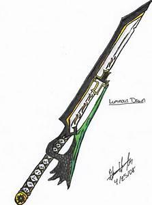 Weekly drawing legendary sword by Lockheart23 on DeviantArt