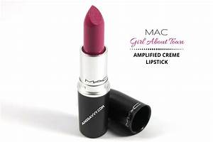 MAC Girl About Town Lipstick Review – Ang Savvy