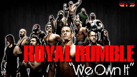 wwe royal rumble theme song