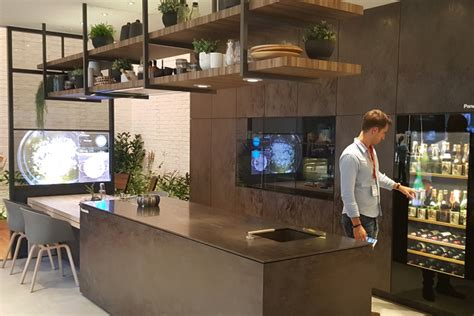 cuisine futur ifa 2016 panasonic nous fait rêver avec sa cuisine du futur
