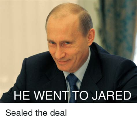 He Went To Jared Meme - he went to jared politics meme on sizzle