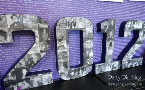 graduation photo collage school year numbers easy diy tutorial