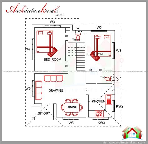 home building plans kerala house plans 15 lakhs home deco plans