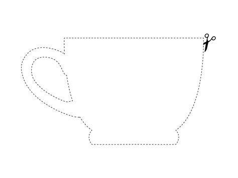 tea cup template hgtv magazine diy kitchen downloads hgtv