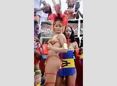 Rihanna reine du carnaval à la Barbade Paperblog