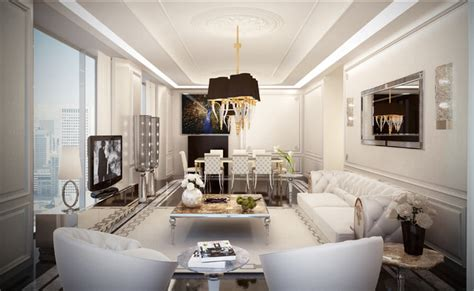 showroom modern living room new york by home