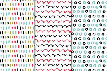 Patterns Drawn Hand Seamless Thehungryjpeg Cart