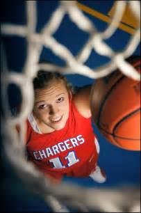 Basketball Senior Portrait Poses