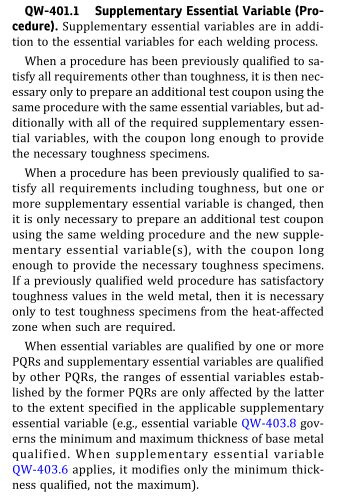 WPS follow ASME IX: Essential Variable! – Shipbuilding