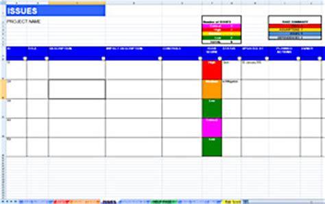 raid log template excel raid log dashboard template