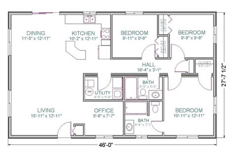 spectacular ranch floor plans with large kitchen ranch style open floor plan modular prow ranch tlc