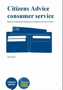 Consumer Codes review - post consultation report and ...