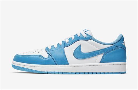 Nike Sb Air Jordan 1 Low Unc Cj7891 401 Release Date Sbd