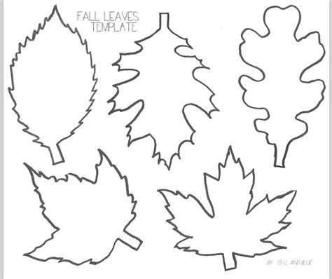Leaf Template Best 25 Leaf Template Printable Ideas On Leaf