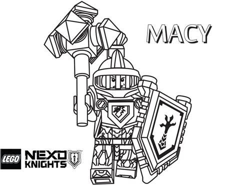 15 Besten Nexo Knights Ausmalbilder Bilder Auf Pinterest