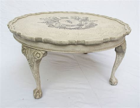 shabby chic coffee table shabby chic round coffee table no 01 touch the wood