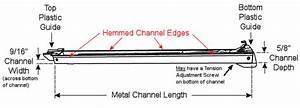 61 Series Channel Window Balances