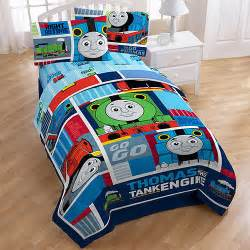 Thomas The Train Twin Bed Set by Thomas The Train Right On Time Bedding Comforter Walmart Com