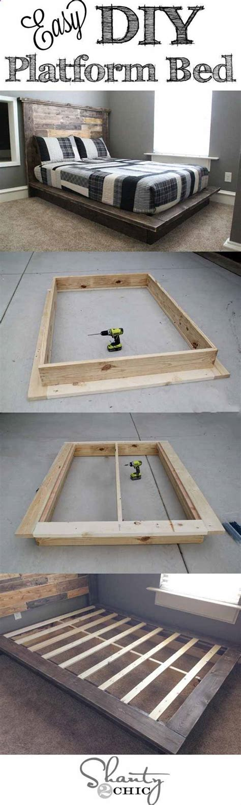 diy platform beds diy ready