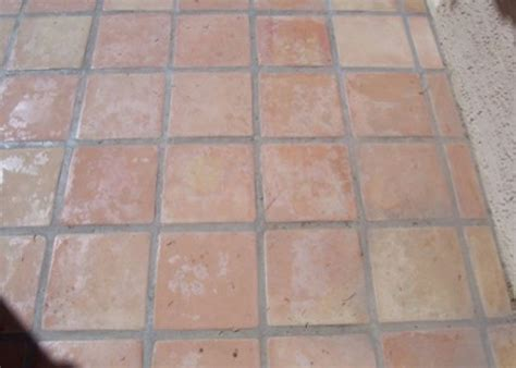 saltillo tile tucson saltillo patio before baker s travertine power clean polishing sealing 1 in scottsdale
