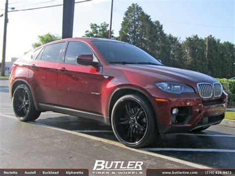 Bmw X6 With 24in Savini Sv32 Wheels Exclusively From