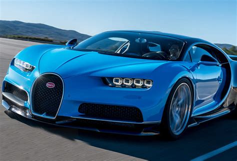 Bugatti Chiron Can Go From 0 To 60mph In The Time It Took