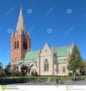 Saint Nicholas Church In Orebro  Sweden Royalty Free Stock Photo