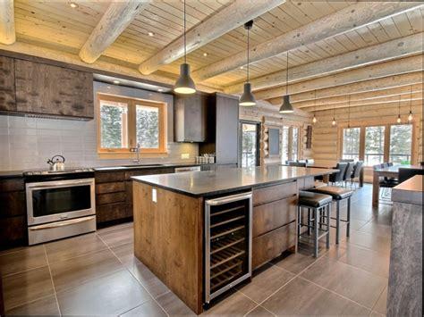 cuisine maison bois cuisine bois cuisine de maison en bois rond