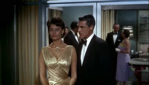 Houseboat Cary Grant by Loren S Gold Dress In Houseboat 1958 Here With