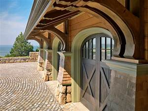 Arched Garage Doors Garage And Shed Beach With Arch Award