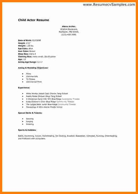 Resume Templates For Beginners by 7 Curriculum Vitae For Beginners Theorynpractice