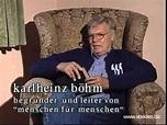 karlheinz böhm - YouTube