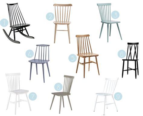 réparer une chaise en bois où trouver une chaise à barreaux scandinave en bois