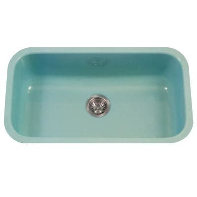 porcelain sinks kitchen houzer porcela series undermount porcelain enamel steel 31 1594