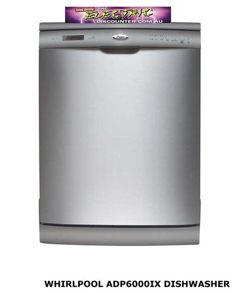 Adp6000ix Whirlpool Dishwasher  The Electric Discounter