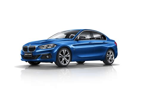 Bmw I Series bmw details china only 1 series sedan ahead of launch