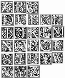 celtic alphabet the art of the letter pinterest With celtic letter p