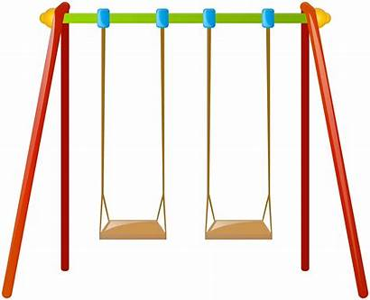 Swing Clip Clipart Swings Childrens Swind Transparent