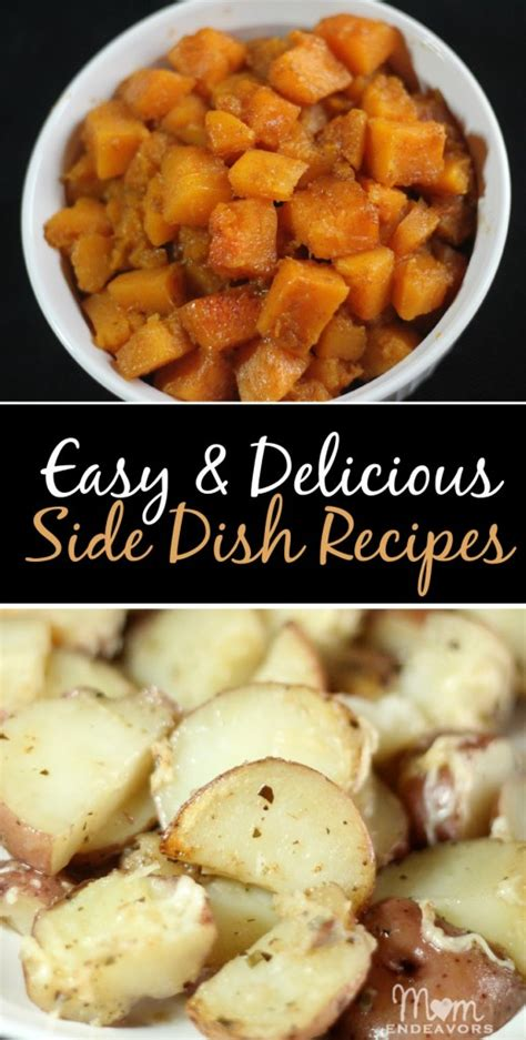 easy side dishes two easy delicious side dish recipes