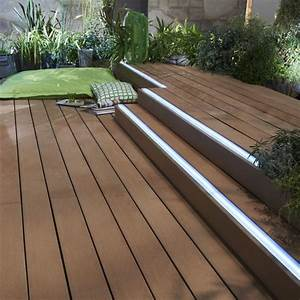 Eclairage Terrasse Bois : eclairage ext rieur lumi res pour mettre en valeur la ~ Melissatoandfro.com Idées de Décoration