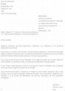 Modele De Lettre De Relance : modele relance facture impayee document online ~ Gottalentnigeria.com Avis de Voitures