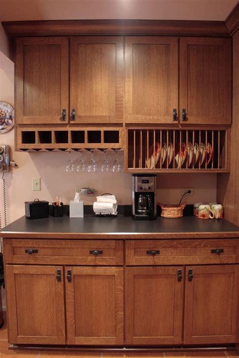 quarter sawn oak kitchen products  love pinterest kitchens plate racks  craftsman