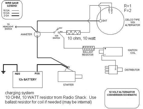 Farmall H Charging System Diagram by Alternator Wiring Question Allischalmers Forum