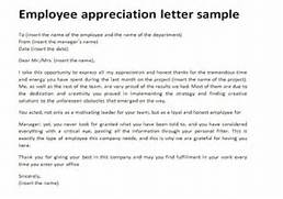 How To Write An Employee Recognition Letter Free Tattoo Thank You Letter To Employee 10 Free Word Excel PDF Letter Of Appreciation To Boss About Employee LiveCareer Employee Dismissal Letter Template Sample Form