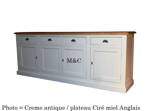 buffet de cuisine bas grand buffet bas 4 portes en pin massif