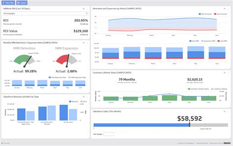data dashboard definition examples