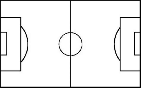 soccer field template soccer field diagram clipart best