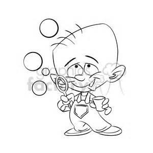 Royalty-Free baby boy blowing bubbles black white 393382 ...
