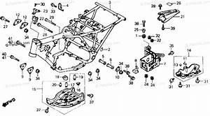 Honda Atv 1986 Oem Parts Diagram For Frame